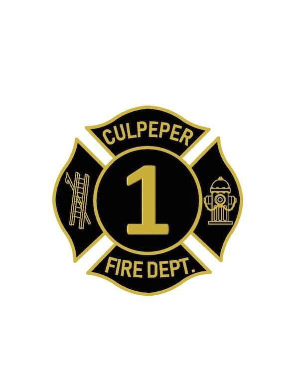 Culpeper County Volunteer Fire Dept Badge